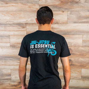 Jiu Jitsu is Essential (Black)