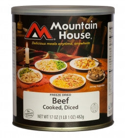 Diced Beef Chunks - Mountain House®