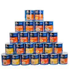 3-month supply Mountain House® Freeze-Dried - 1 adult - 3 meals/day