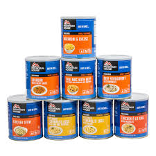 1-month supply Mountain House® Freeze-Dried Entrées - 1 adult - 3 meals/day