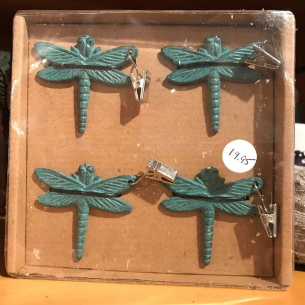 Dragonfly Table Clips