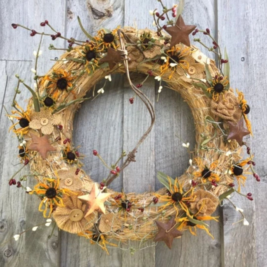 Country Harvest Wreath