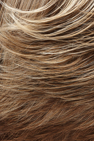 Light Brown and Light Natural Blonde Blend with Light Brown Nape (10/22TT)
