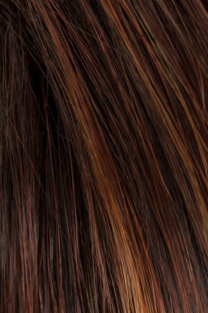 Medium Brown w Deep Copper Red Highlights (131)