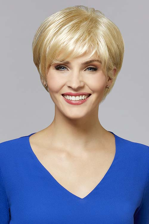 Audrey by Henry Margu in Light Wheat Blonde with Light Gold Blonde highlights (614H)