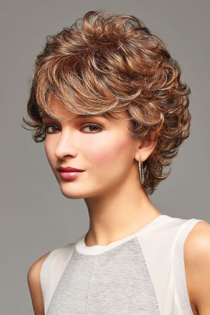 Bailey by Henry Margu in Medium Brown with Gold Blonde and Strawberry and Auburn highlights (8/27/33H)