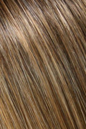 Med Nat Ash Blonde n Nat Gold Blonde Blend shaded w Med Brown (24B18S8)