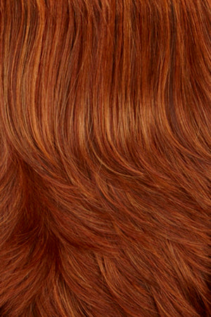 Dark Auburn with Copper Red and Fire Red highlights (29H)