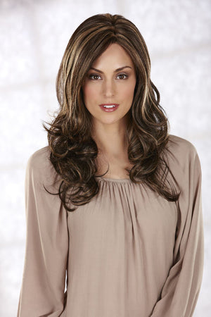 Ava by Henry Margu in Dark Brown with Golden Blonde highlights (626H)
