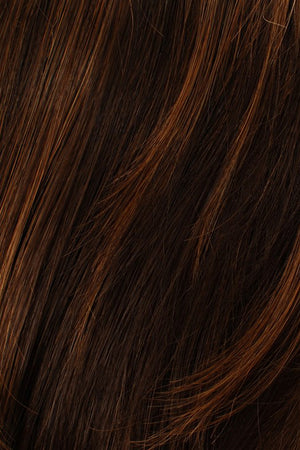 Medium Brown w Lightest Red Highlights (6/27)