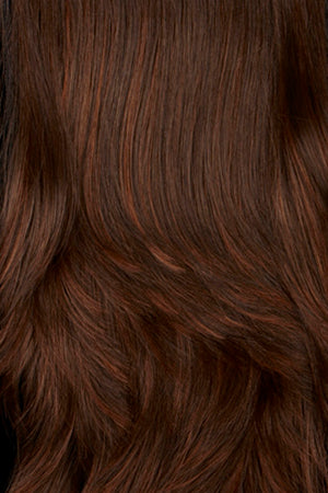 Chestnut Brown with Auburn highlights (6H)
