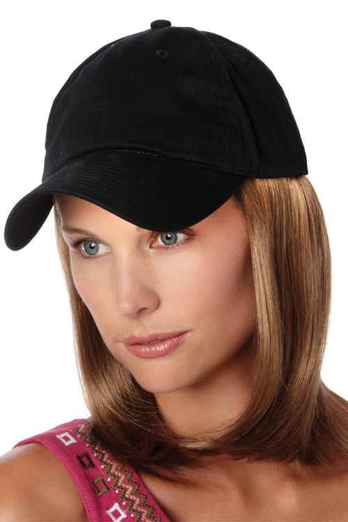 Classic Hat Black by Henry Margu in Golden Brown with Light Gold Blonde highlights (12H)