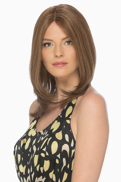 Celine - Lace Front By Estetica in Golden Brown w Dark Blonde Highlights (R14/8H)