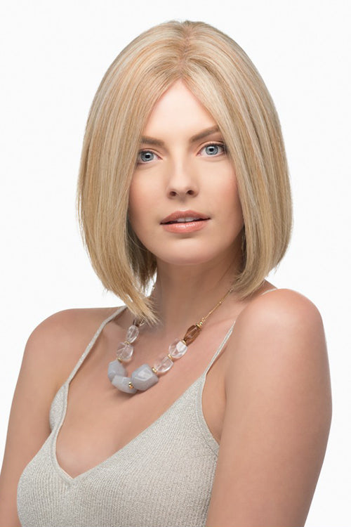 Emmeline By Estetica in Dark Blonde w Lightest Blonde Highlights (RH1488)