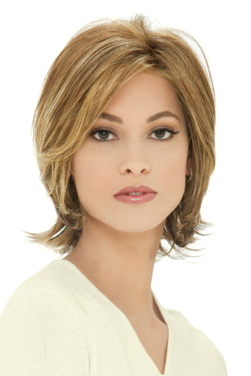 Monika By Estetica in Golden Brown w Golden Blonde Highlights (R8/26H)