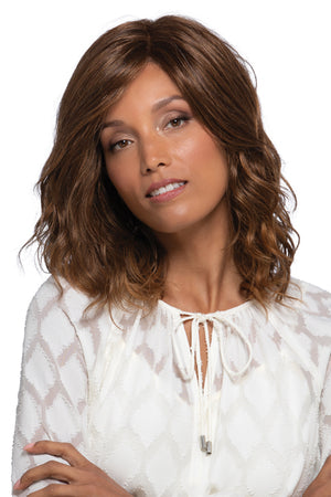 Berlin by Estetica in Chestnut Brown w Subtle Auburn Highlights n Auburn Tipped Ends (RTH6/28)