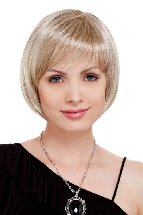 Charm - Petite By Estetica in Dark Blonde w Lightest Blonde Highlights (RH1488)