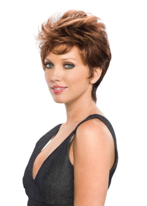 Pixie by Tony of Beverly in Medium Brown Deep Copper Red (6S130)