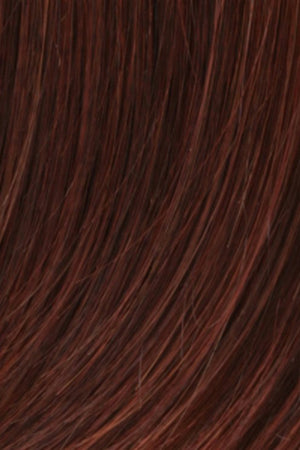 Dark Brown w Auburn w Bright Red Frost (R133F)