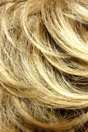 Golden Blonde Blended n Tipped w Ash Blonde (R24/18BT)