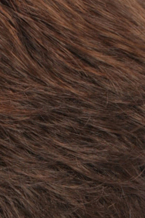 Chestnut Brown Lightening to Bright Red Mix in Front (R6LF29)