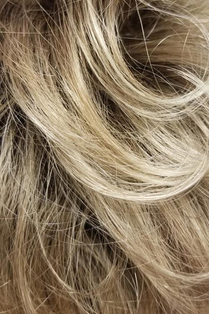 Dark Blonde w Lightest Blonde Highlights n Golden Brown Roots (RH1488RT8)