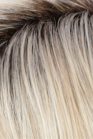 Golden Blonde w Pale Blonde Highlights n Golden Brown Roots (RH26/613RT8)