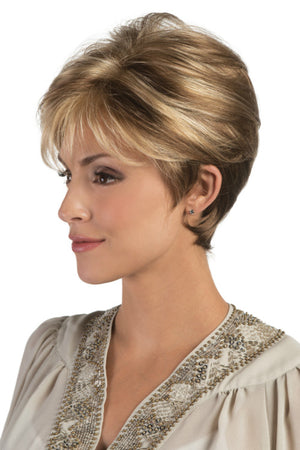 Tori By Estetica in Light Brown w Chunky Golden Blonde Highlights (R12/26CH)
