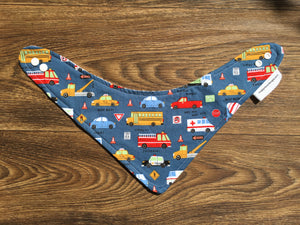 Bandana Drool Bib, On the Road