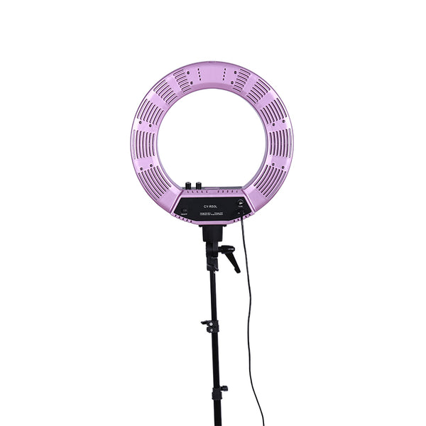 18 Inches Photography Photo Studio 480 LED Ring Light 5500K Dimmable Camera Ring Video Light Lamp