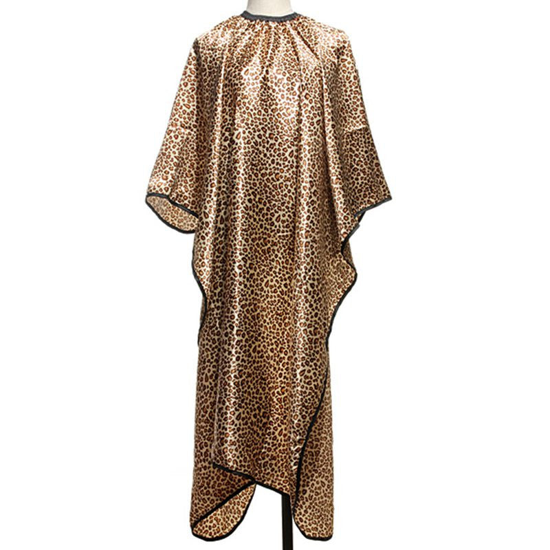 New! Leopard Hair Cape Hairdressing Cut Salon Hairstylist/Barber Styling Cape - ZOË Products Int'l. - 1