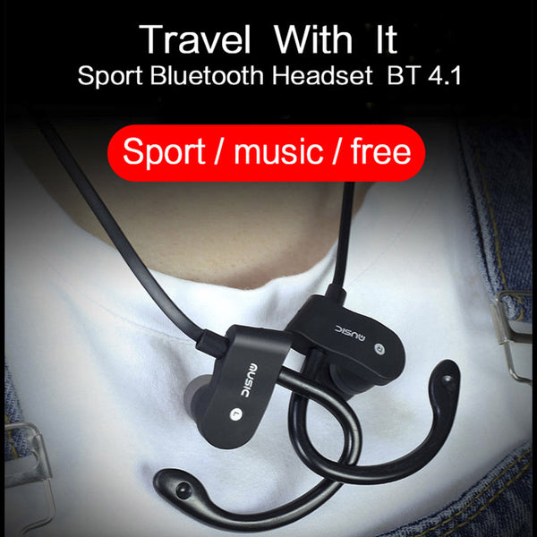 New!! TEAMYO S4 Stereo In-Ear Bluetooth Earphone Wireless Sport Headsets Music Player with Mic For iPhone 5 6 6s SE Samsung MP3 - ZOË Products Int'l. - 6