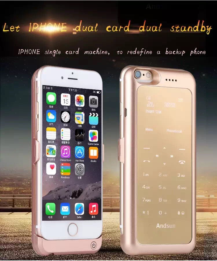 New! Battery Charger Cases  for iPhone6 4.7/Mobile power bank/Support for memory card and call functions - ZOË Products Int'l. - 1