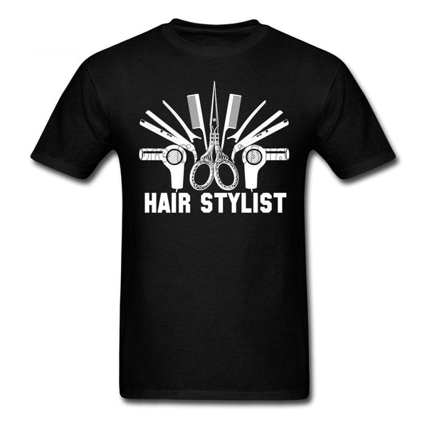 New! Hairstylist T Shirt Casual Custom Unisex Shirt