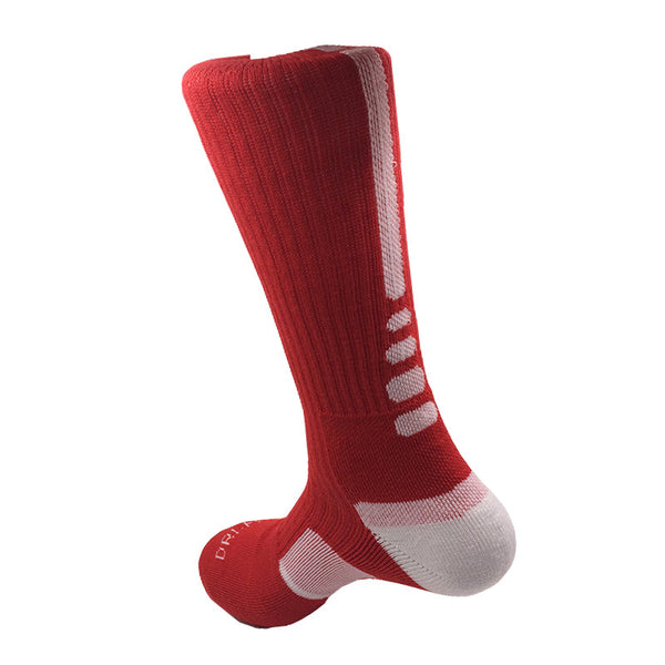 New! ZOË Thick Outdoor Men's Athletic Socks Fashion Sport Professional Basketball Elite Brand Sock Good Quality - ZOË Products Int'l. - 6