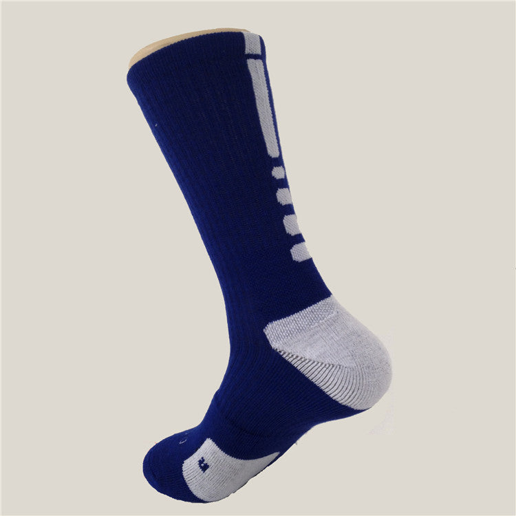 New! ZOË Thick Outdoor Men's Athletic Socks Fashion Sport Professional Basketball Elite Brand Sock Good Quality - ZOË Products Int'l. - 7