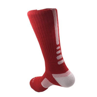 New! ZOË Thick Outdoor Men's Athletic Socks Fashion Sport Professional Basketball Elite Brand Sock Good Quality - ZOË Products Int'l. - 8