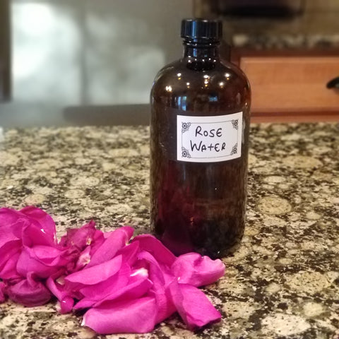 Organik Beauty How To Make Rosewater