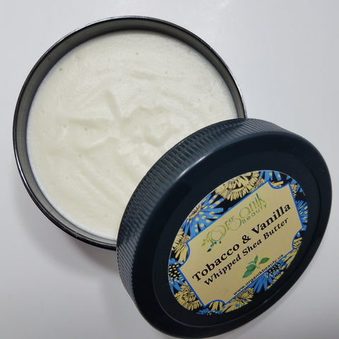 Organik Beauty Tobacco Vanilla Whipped Shea Butter for Hair and Body