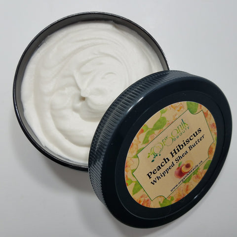 Peach Hibiscus Whipped Shea Body Butter