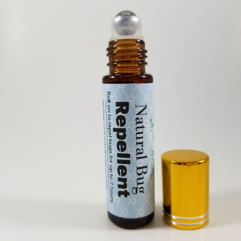 Natural Bug Repellent Roll-On Oil 10 ml - Organik Beauty