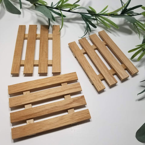Wooden Soap Decks - Organik Beauty