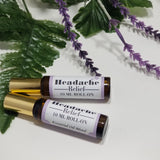 Headache Relief Roll On Essential Oil by Organik Beauty