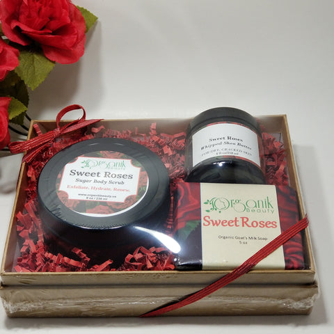 Sugar Body Scrub Gift Set - Organik Beauty