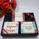 Valentine Soap Collection - All Natural Handmade Soaps - Organik Beauty