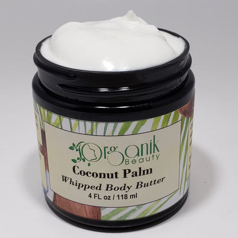 Coconut Palm Whipped Shea Body Butter by Organik Beauty