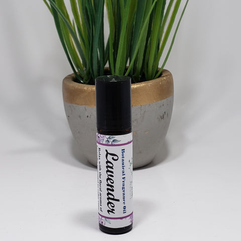Lavender Essential Oil Roll On 10 ml by Organik Beauty