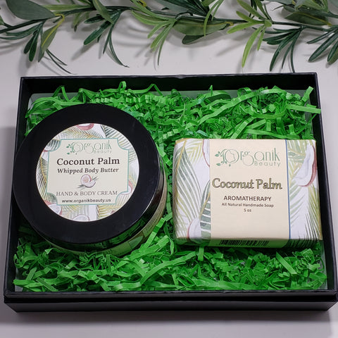 Coconut Palm Body Essentials Gift Set by Organik Beauty
