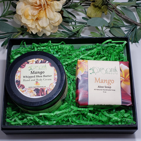 Mango Body Essentials Gift Set by Organik Beauty