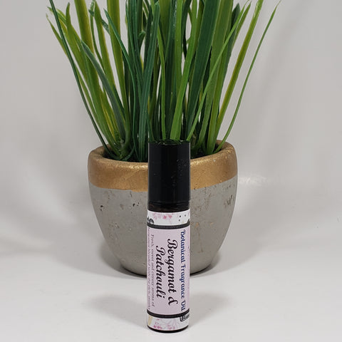 Bergamot and Patchouli Essential Oil Roll-On 10 ml - Organik Beauty